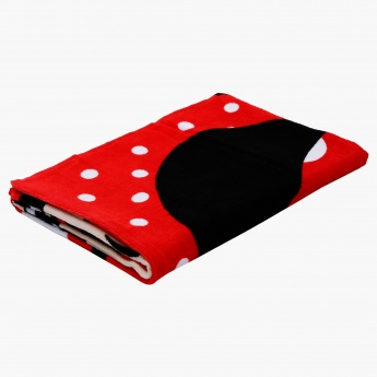 Mickey Mouse Printed Beach Towel