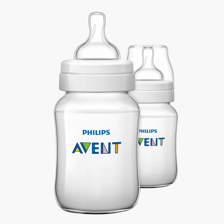 Philips Avent Feeding Bottle with Caps - Set of 2