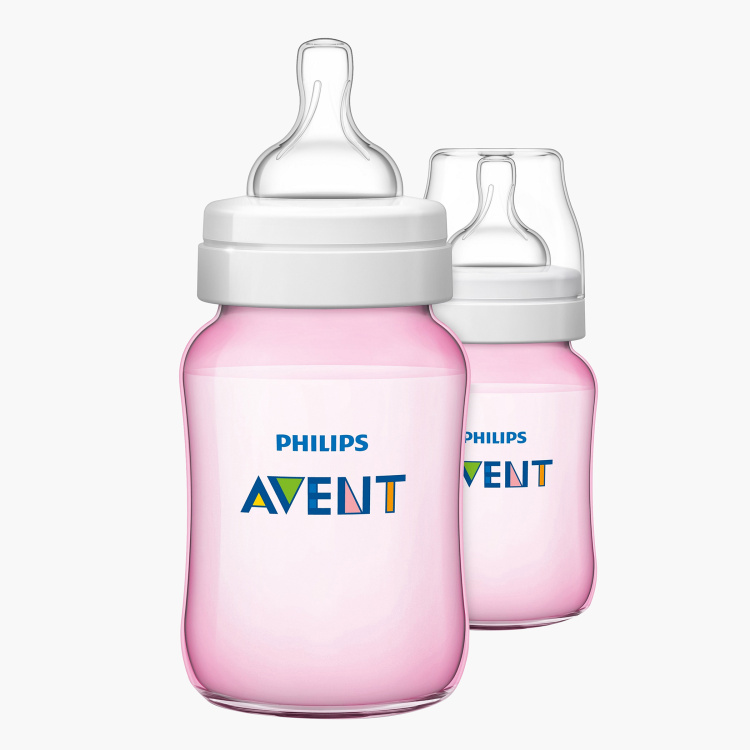 Philips Avent Anti-Colic Feeding Bottle - Set of 2