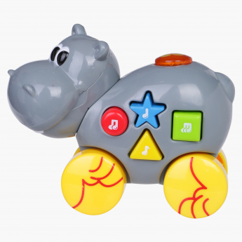 Juniors Musical Hippo Toy