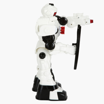 Infrared Control Missile Shooting Toy Robot