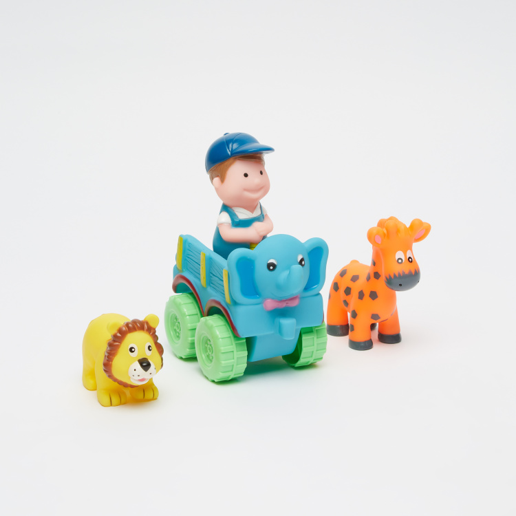 Juniors Figures and Farm Cart Playset
