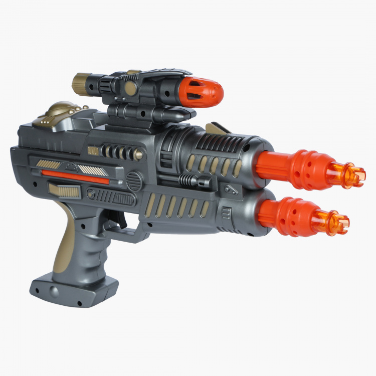 Space Gun with Light and Sound