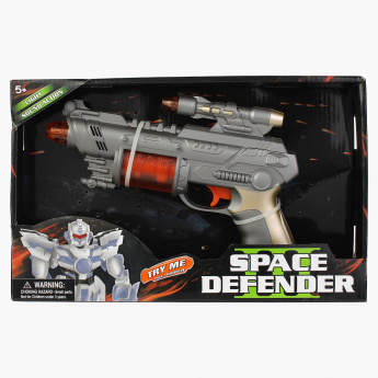 Space Gun Toy with Light and Sound