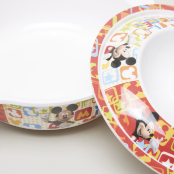 Mickey Mouse Printed Bowl with Lid