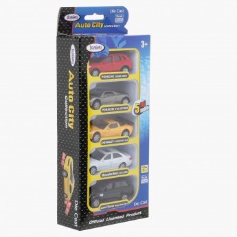 Juniors Die Cast 5-Piece Car Set