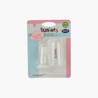Finger Tip Tooth Brush and Stand