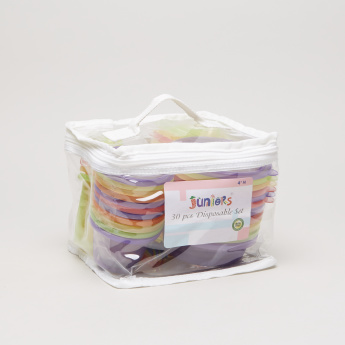 Juniors 30-Piece Disposable Feeding Set