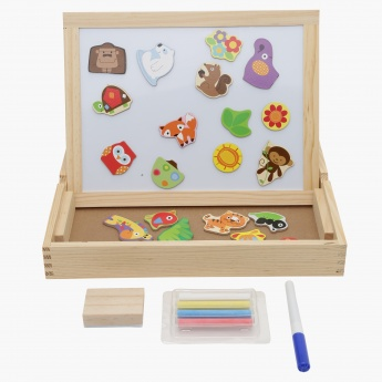 Juniors 3-in-1 Magnetic Drawing Board