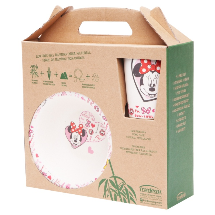 Minnie Mouse Dinner Set