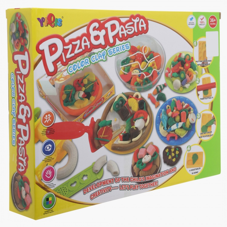 Juniors Pizza and Pasta Colour Clay Set