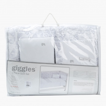 Giggles 3-piece Bed Sheet Set