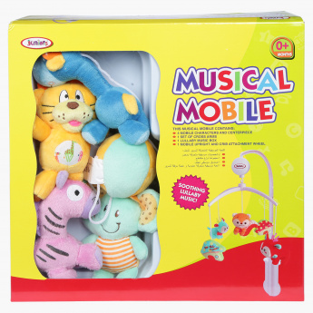 Juniors Musical Safari Mobile Toy