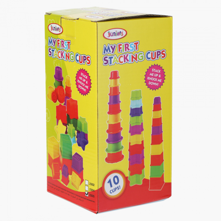 Juniors Stacking Cubes Toy Set