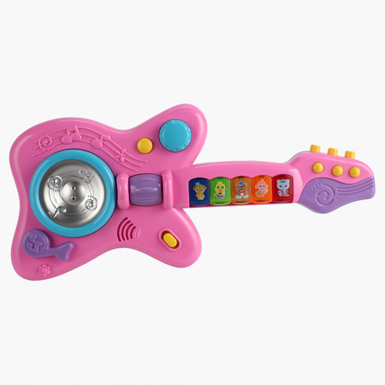 Guitar and Microphone Toy Set