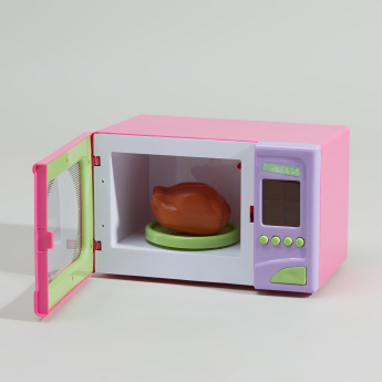 Juniors Microwave Playset