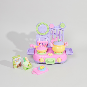 Juniors Kitchen Stove Playset with Sound