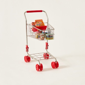 Just for Chef My Trolley with Groceries Playset
