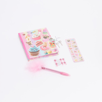 Hot Focus Scented Diary Set