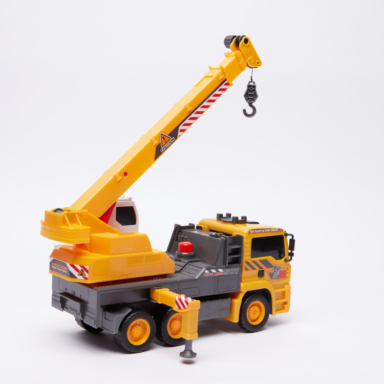 DICKIE TOYS Air Pump Mobile Crane Toy