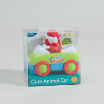 Juniors Animal Car with Light and Sound