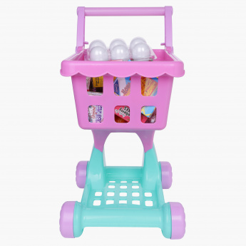 Shopping Cart and Grocery Playset
