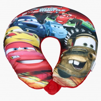 Cars Print Neck Pillow