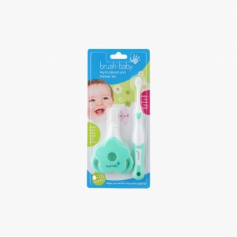 Brush Baby First Brush Teether Set