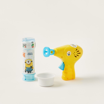 Minions Printed Bubble Gun Playset