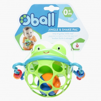 Bright Starts Oball Jingle Rattle Toy
