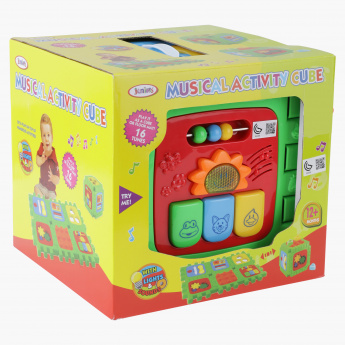 Juniors Musical Activity Cube