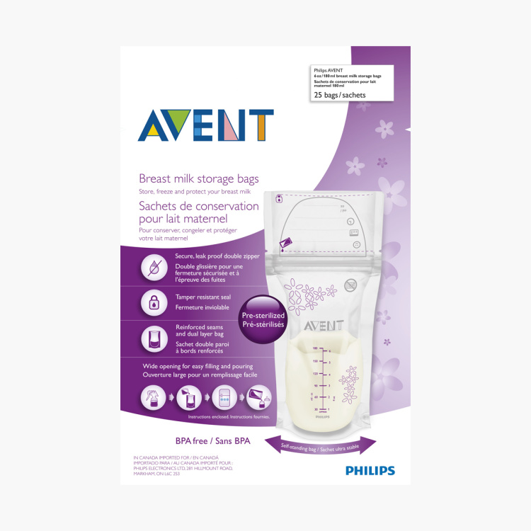 Philips Avent Breast Milk Storage Bag