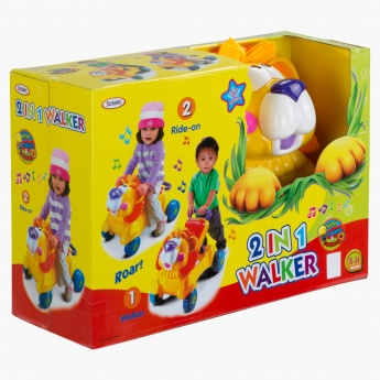 Juniors 2-in-1 Walker with Music