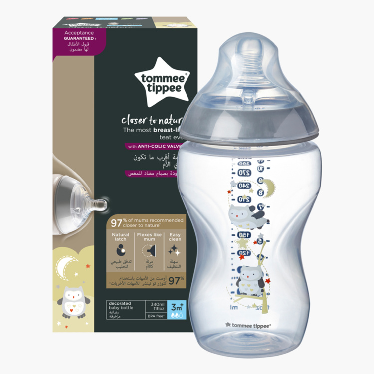 Tommee Tippee Feeding Bottle - 340 ml