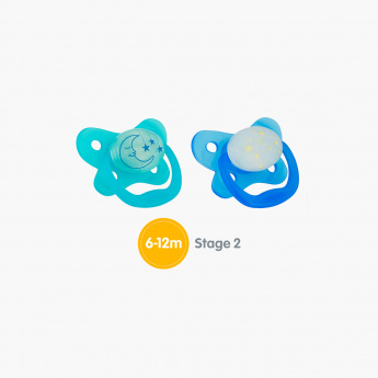 Dr. Brown's Glow in The Dark Pacifier - Set of 2