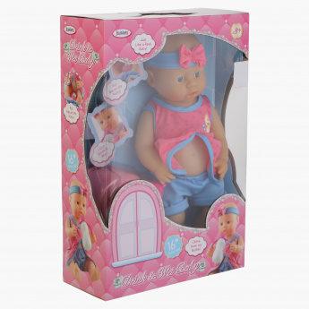 Juniors Drink and Wet Baby Doll Playset