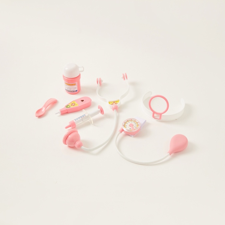 Baby Doll with Medical Accessories Set