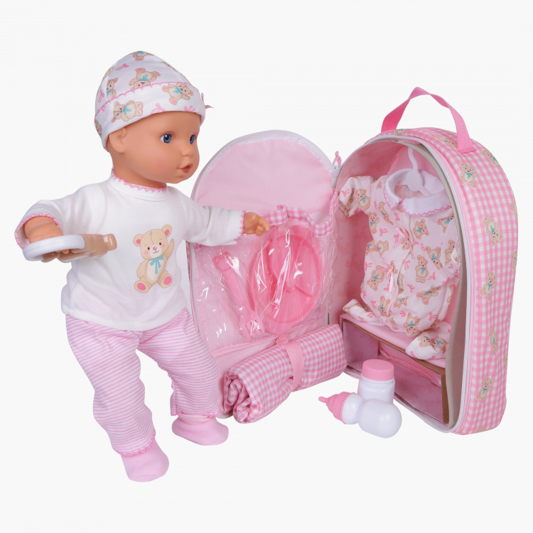 Baby Doll with 5-in-1 Accessories