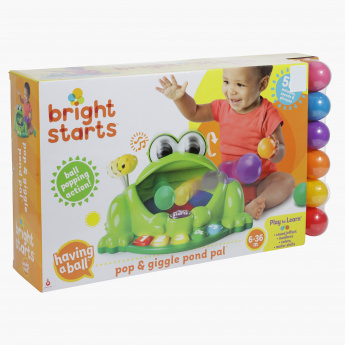 Bright Starts Ball Popping Action Set