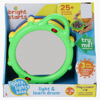 Bright Starts Light and Learn Drum Toy