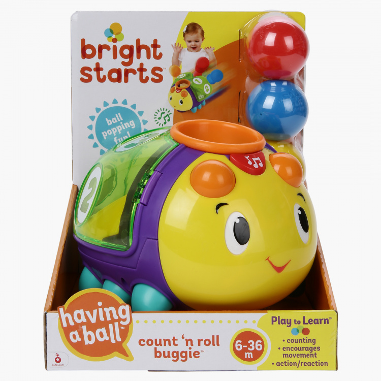 Bright Starts Count and Roll Buggie