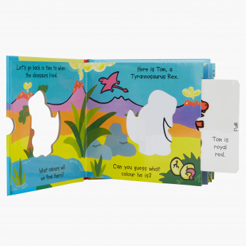 Dinosaurs Magic Colour Book