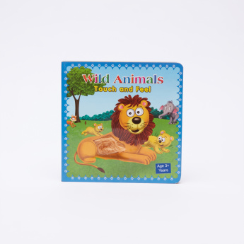 Wild AnimalsTouch and Feel Book