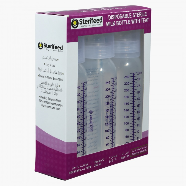 Sterifeed Printed Feeding Bottle - 250 ml