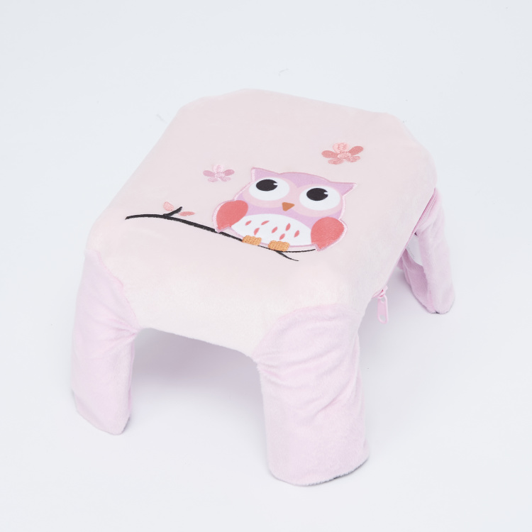 Juniors Owl Embroidered Stool
