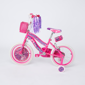 Barbie Bicycle with Training Wheels