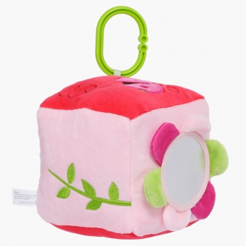 Juniors Square Rattle Plush Toy