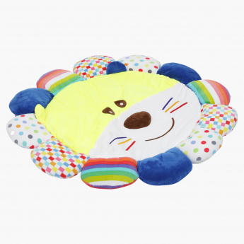 Dangling Toys Lion Playmat