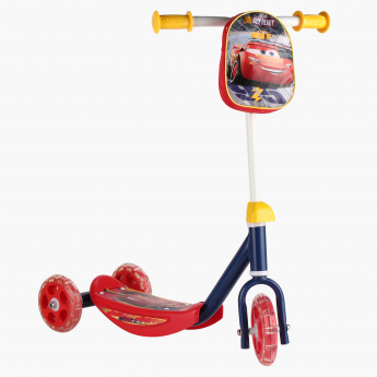 Cars Printed 3-Wheel Scooter
