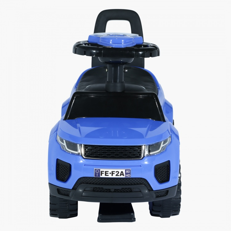 Juniors Ride-On Car with Interactive Toys